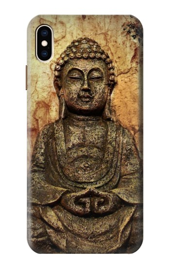 Printed Buddha Rock Carving iPhone XS Max Case