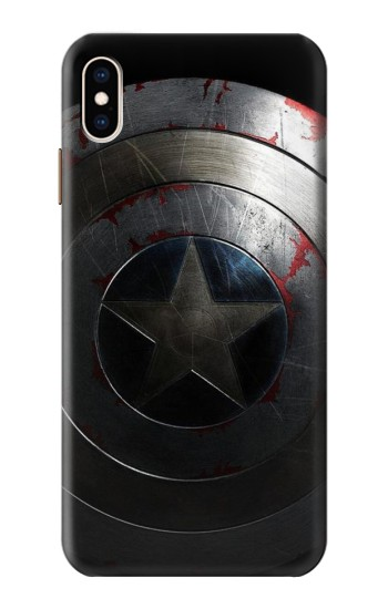 Printed Captain Shield iPhone XS Max Case