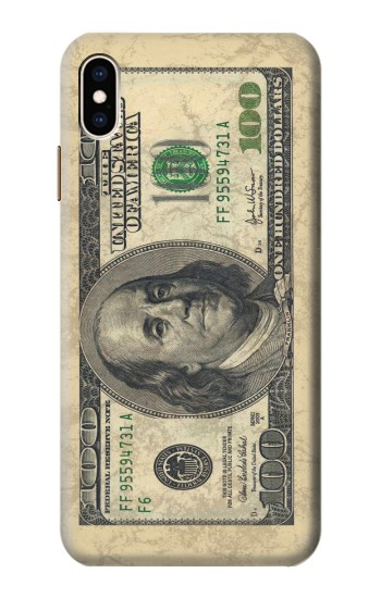 Printed Money Dollars iPhone XS Max Case