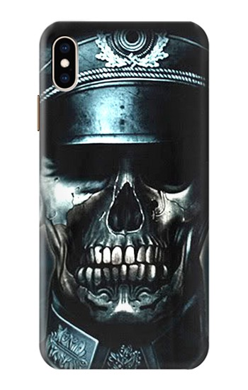 Printed Skull Soldier Zombie iPhone XS Max Case