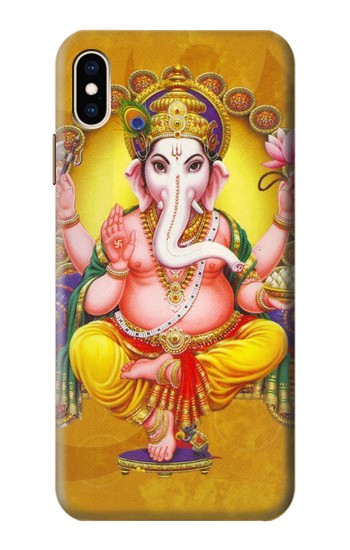 Printed Lord Ganesh Hindu God iPhone XS Max Case