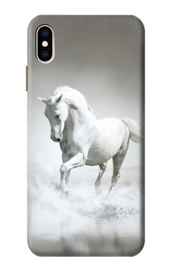 Printed White Horse iPhone XS Max Case