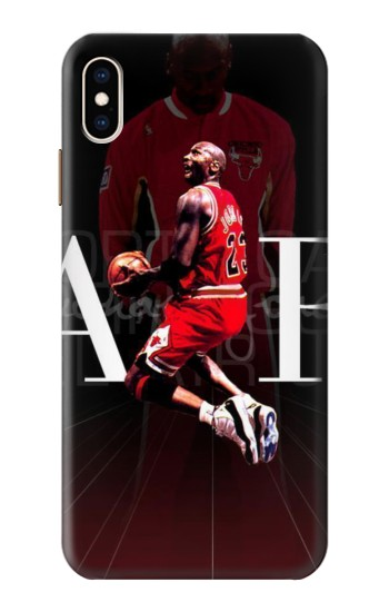 Printed Basketball Air Jordan iPhone XS Max Case