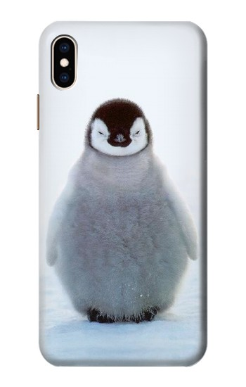 Printed Penguin Ice iPhone XS Max Case