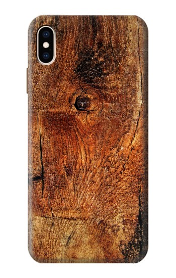 Printed Wood Skin Graphic iPhone XS Max Case