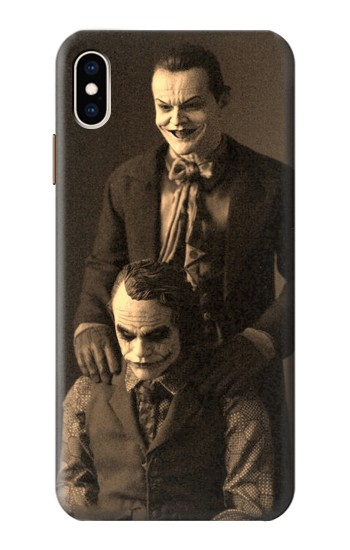 Printed Jokers Together iPhone XS Max Case