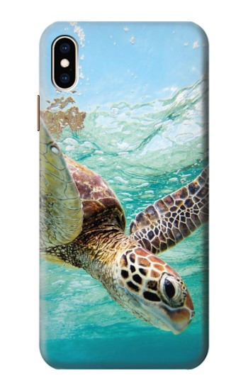 Printed Ocean Sea Turtle iPhone XS Max Case