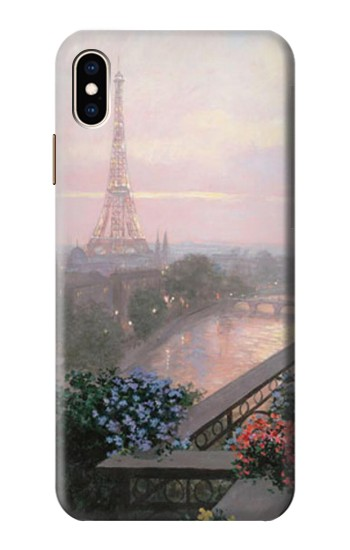 Printed Terrace in Paris Eifel iPhone XS Max Case