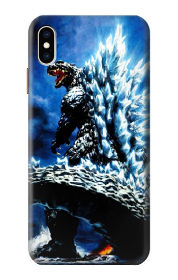 Printed Godzilla Giant Monster iPhone XS Max Case
