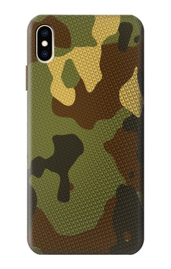 Printed Camo Camouflage Graphic Printed iPhone XS Max Case