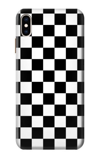 Printed Checkerboard Chess Board iPhone XS Max Case
