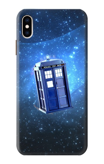 Printed Doctor Who Tardis iPhone XS Max Case