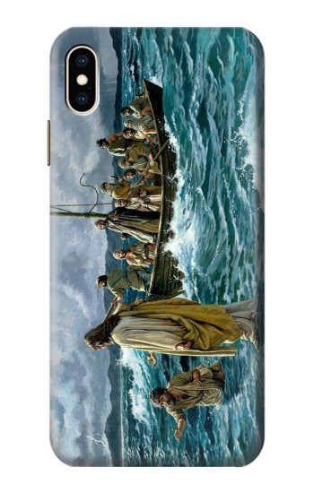 Printed Jesus Walk on The Sea iPhone XS Max Case