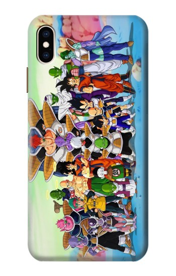 Printed Dragon Ball Z iPhone XS Max Case