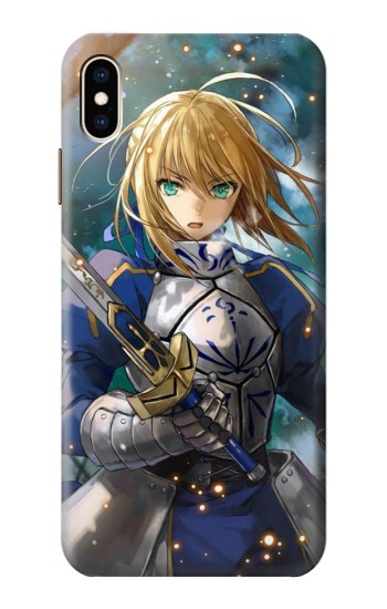 Printed Fate Stay Night Saber Arturia Pendragon iPhone XS Max Case