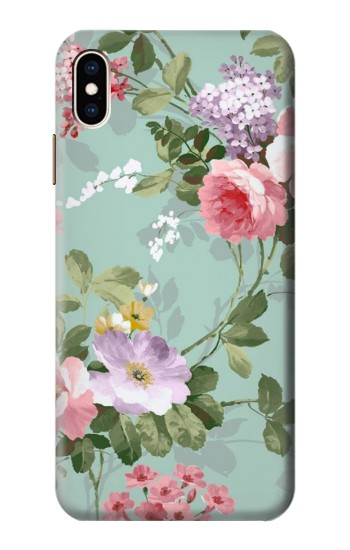 Printed Flower Floral Art Painting iPhone XS Max Case
