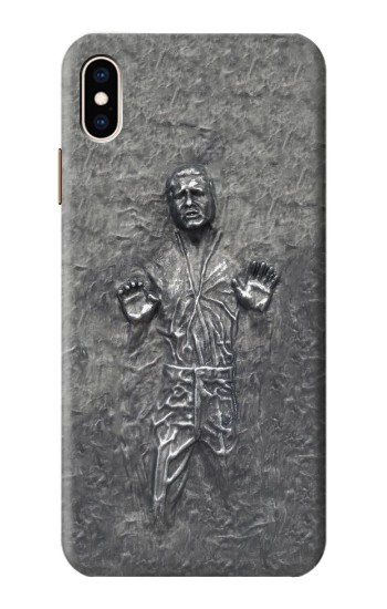 Printed Han Solo in Carbonite iPhone XS Max Case