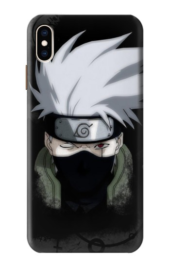 Printed Hatake Kakashi 6th Hokage Naruto iPhone XS Max Case