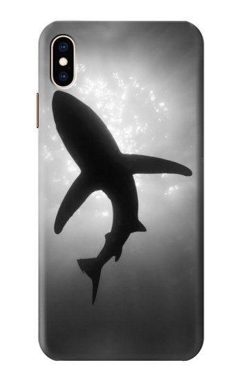 Printed Shark Monochrome iPhone XS Max Case