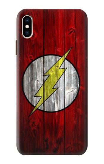 Printed Thunder Speed Flash Minimalist iPhone XS Max Case