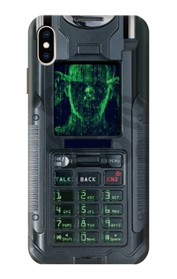 Printed The Matrix Mobile Phone Graphic Printed iPhone XS Max Case