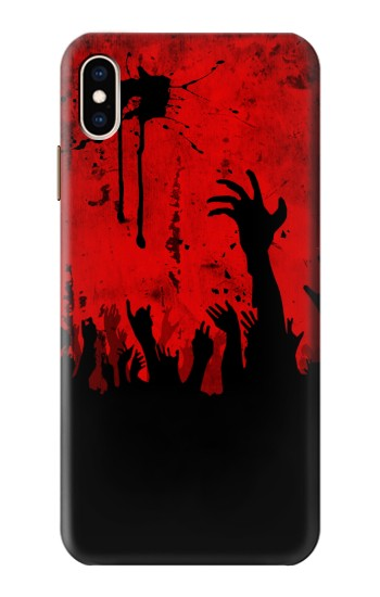 Printed Zombie Hands iPhone XS Max Case