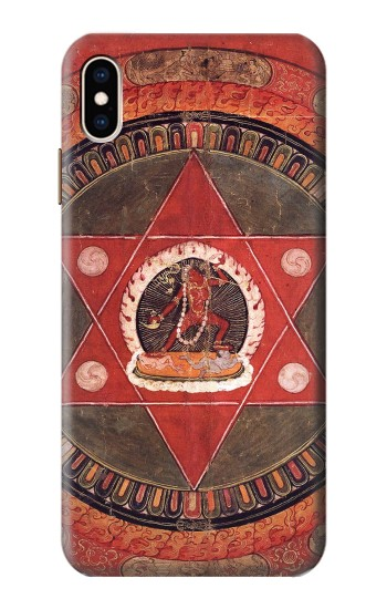 Printed Tibetan Mandala of the Naropa Tradition iPhone XS Max Case