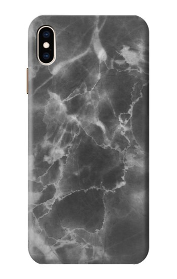 Printed Marble Black iPhone XS Max Case