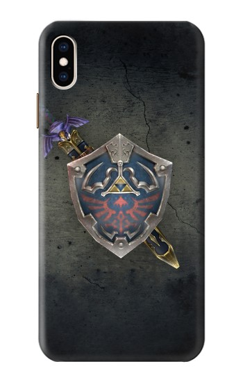 Printed Legend of Zelda Shield iPhone XS Max Case
