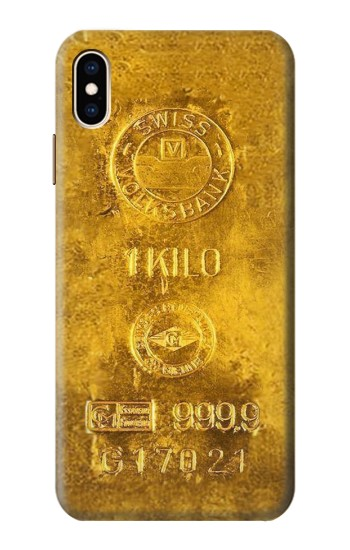 Printed One Kilo Gold Bar iPhone XS Max Case