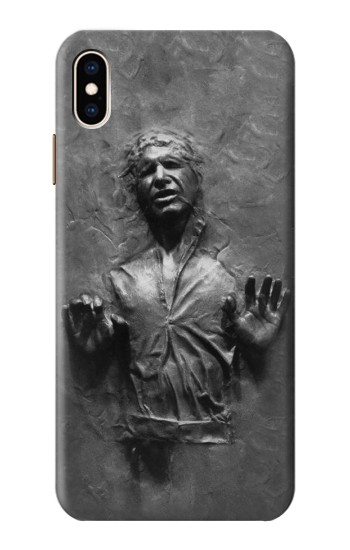 Printed Han Solo Frozen in Carbonite iPhone XS Max Case