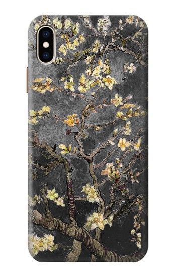 Printed Black Blossoming Almond Tree Van Gogh iPhone XS Max Case