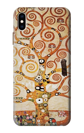 Printed The Tree of Life Gustav Klimt iPhone XS Max Case