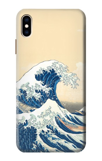 Printed Under the Wave off Kanagawa iPhone XS Max Case