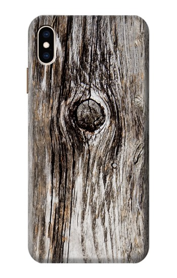 Printed Old Wood Bark Printed iPhone XS Max Case