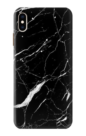 Printed Black Marble Graphic Printed iPhone XS Max Case