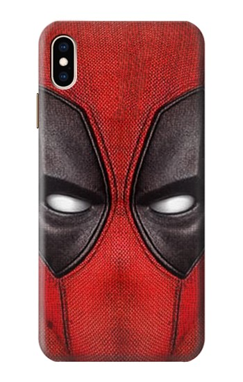 Printed Deadpool Mask iPhone XS Max Case