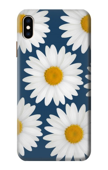 Printed Daisy Blue iPhone XS Max Case
