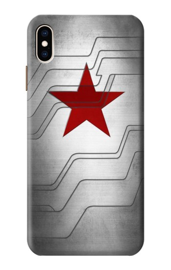Printed Winter Soldier Bucky Arm Texture iPhone XS Max Case