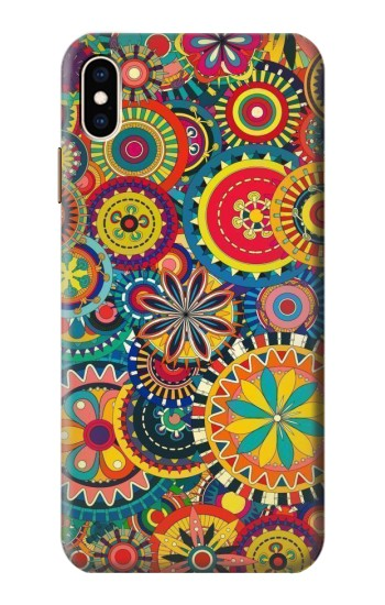 Printed Colorful Pattern iPhone XS Max Case