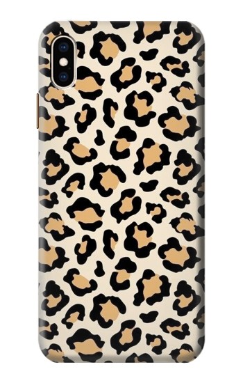 Printed Fashionable Leopard Seamless Pattern iPhone XS Max Case