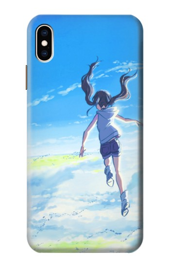 Printed Weathering With You Amano Hina iPhone XS Max Case