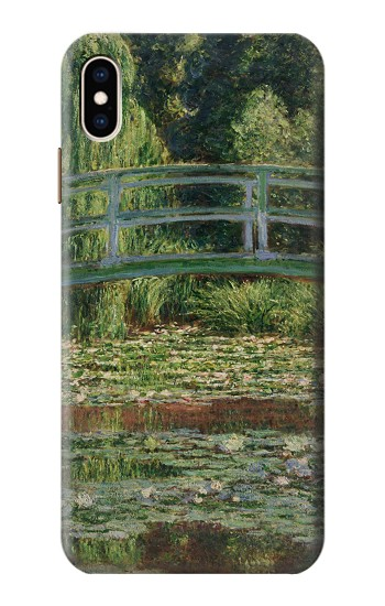 Printed Claude Monet Footbridge and Water Lily Pool iPhone XS Max Case