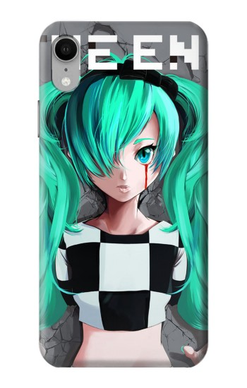 Printed hatsune miku The End iPhone XR Case