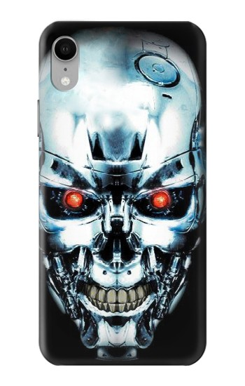 Printed Terminator Robot Skull iPhone XR Case