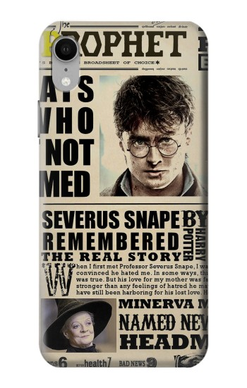 Printed Harry Potter Daily Prophet iPhone XR Case