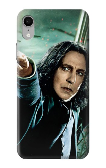 Printed Harry Potter Snape iPhone XR Case