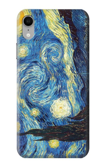 Printed Van Gogh Starry Nights iPhone XR Case