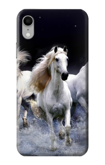 Printed White Horse iPhone XR Case