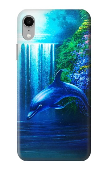 Printed Dolphin iPhone XR Case